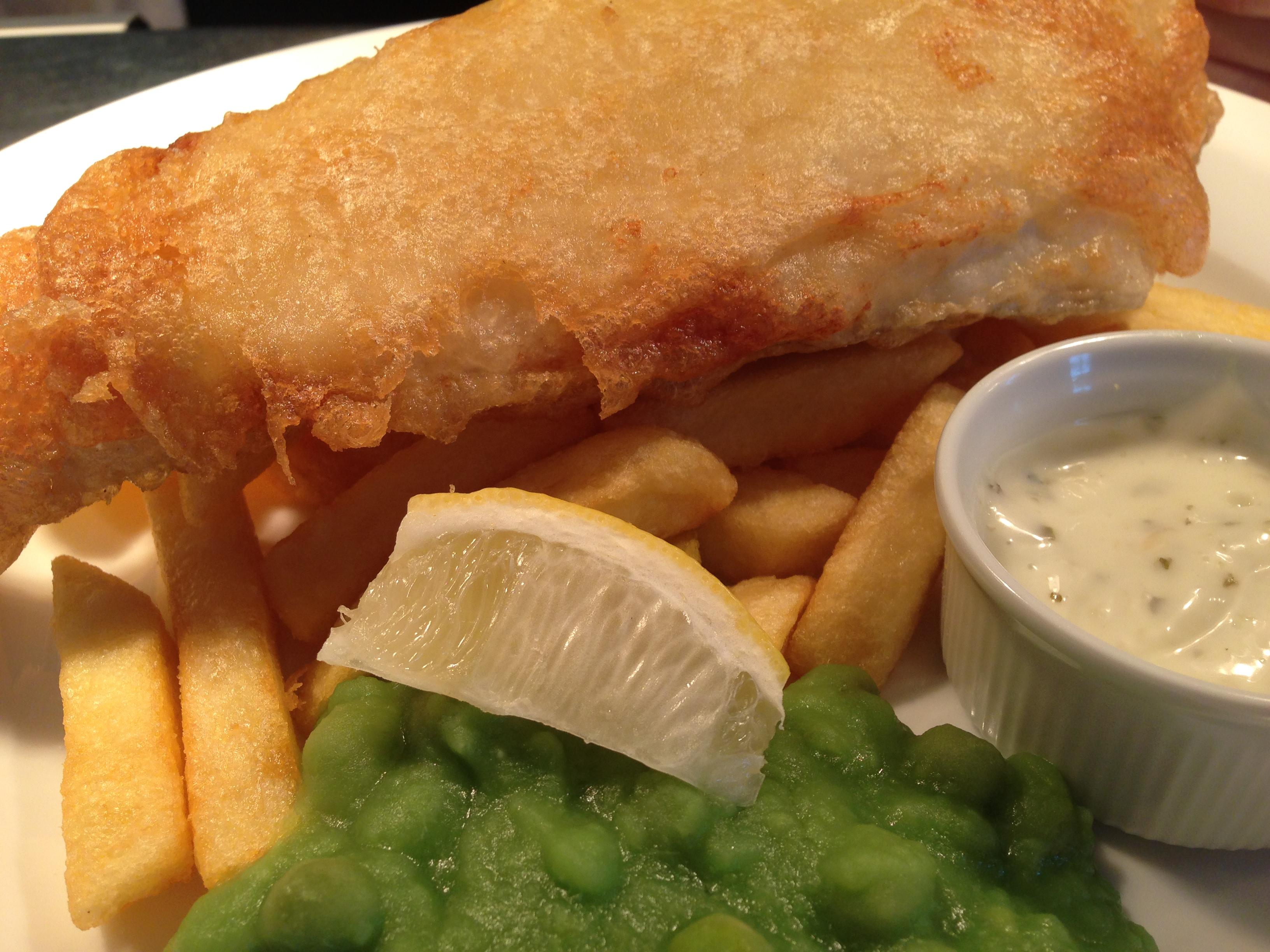 Fish & Chips At OhSo Social