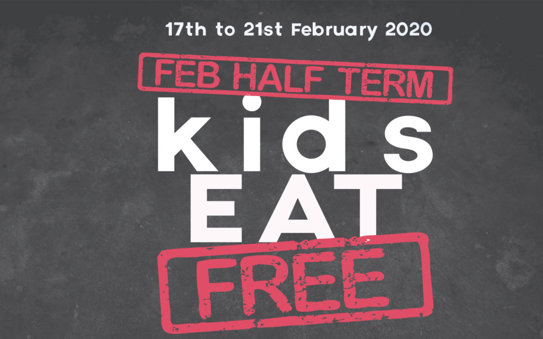 October Half Term 2020 – Kids Eat Free on Brighton Beach
